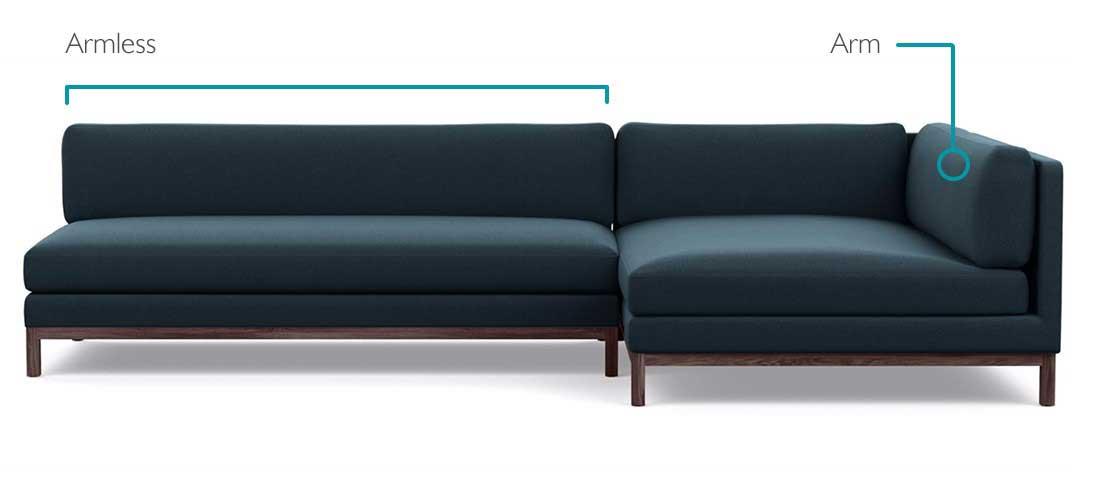 Jasper Sofa Features